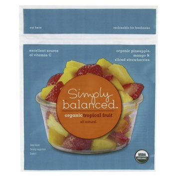 Simply Balanced Organic Mixed Tropical Frozen Fruit