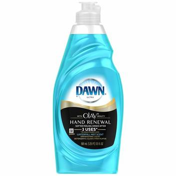 Dawn Hand Renewal with Olay Waterfall Mist Scent Dishwashing Liquid