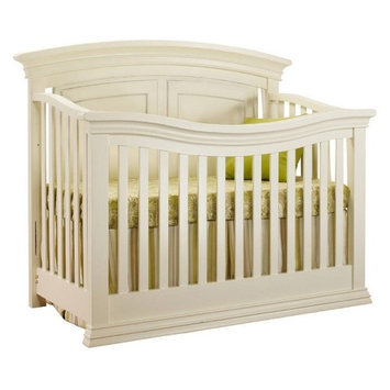 C International Sorelle Verona 4-in-1 Convertible Crib - French White