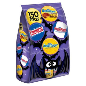 Nestlé U.S.A. Nestlé Assorted Chocolate Bag Butterfinger, Crunch and Baby Ruth 150
