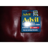 Advil Ibuprofen Tablets, 200 mg Pain Reliever/Fever Reducer (NSAID), 6 Coated Tablets