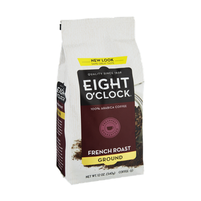 Eight O'Clock French Roast Ground Coffee
