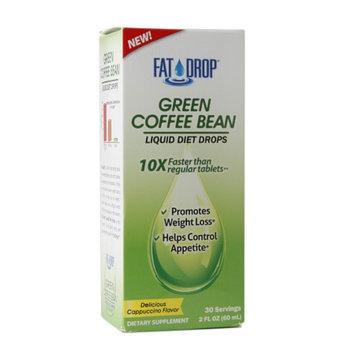 Healthy Natural Systems Fat Drop Green Coffee Bean Liquid Diet Drops Cappuccino