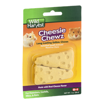 Wild Harvest Cheesie Chewz For Hamsters, Gerbils, Mice, & Rats - 2 CT