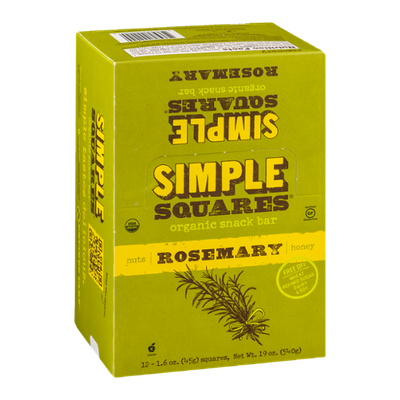 Simple Squares Rosemary - 12 CT