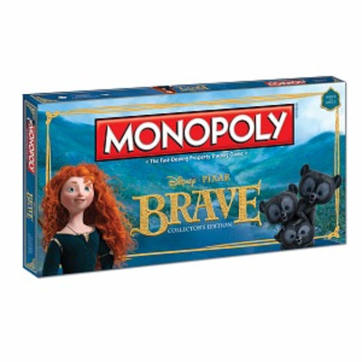 USAopoly Monopoly Brave Collector's Edition Ages 8+, 1 ea