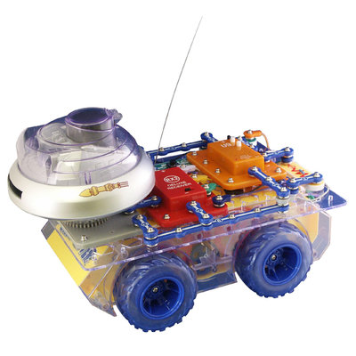 Elenco Electronics Snap Circuits Deluxe Snap Rover Toy Game