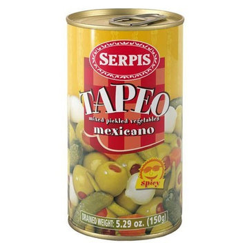 Serpis Tapeo Mexicano Mixed Vegetables, 12.35-Ounce Cans (Pack of 6)