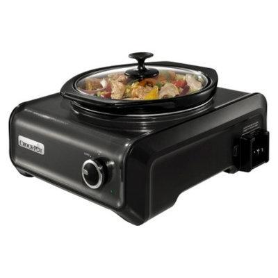 Crock Pot Crock-Pot Hook Up Connectable Entertaining System, 2-Quart - Black