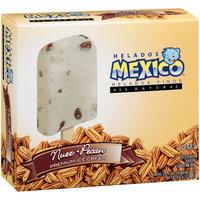 Helados Mexico Nuez-Pecan Premium Ice Cream Bars, 18 fl oz