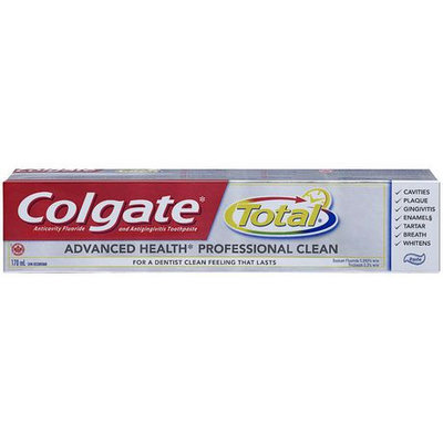 Colgate® Total® ADVANCED HEALTH PROFESSIONAL CLEAN Toothpaste