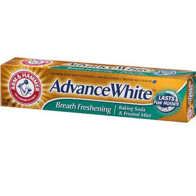 ARM & HAMMER™ Advance White Breath Freshening Baking Soda & Frosted Mint