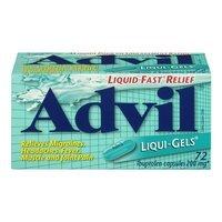 Advil Liqui-Gels, 200 mg, 72 Liqui-Gels