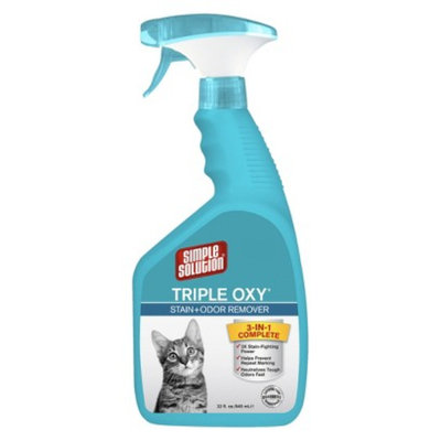 Simple Solutions Simple Solution Triple Oxy Stain+Odor Remover 32 oz
