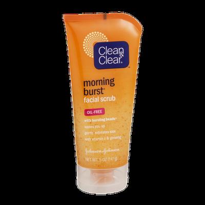 Clean & Clear Morning Burst Oil-Free Facial Scrub