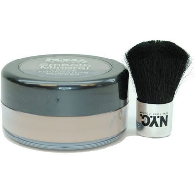 N.Y.C. New York Color Smooth Mineral Loose Foundation Powder with SPF 12