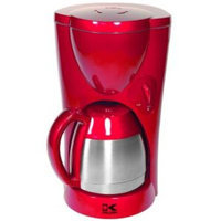 Kalorik 8-Cup Thermoflask Coffee Maker in Red Metallic-DISCONTINUED