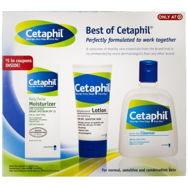 Cetaphil Facial Skincare Set