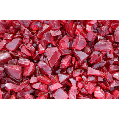 Cam Consumer Products, Inc. 25lb. Medium Red Landscape Fire Glass