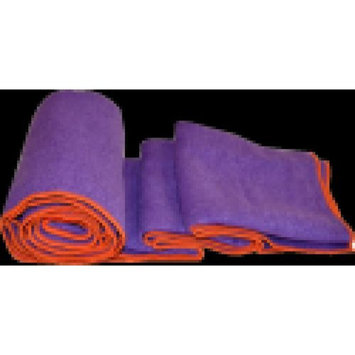 Khataland Equanimity Extra Long Yoga Towel - Purple