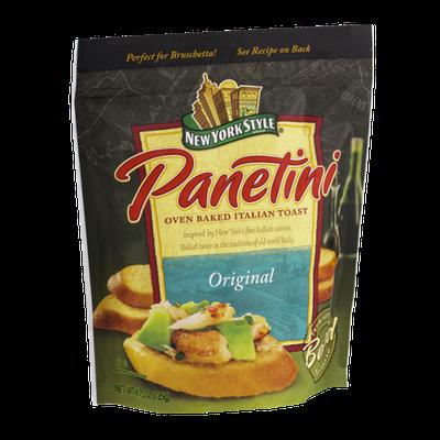 New York Style Panetini Oven Baked Italian Toast Original