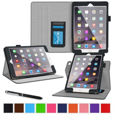 roocase iPad Air 2 (2014) Stand Folio Case