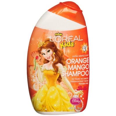 L'Oréal Paris Kids Extra Gentle 2-in-1 Shampoo, Belle / Orange Mango