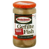 Manischewitz, Fish, Gefilte, Red Slm, 12/24 Oz