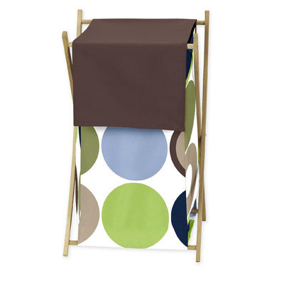Sweet Jojo Designs Designer Dot Collection Laundry Hamper