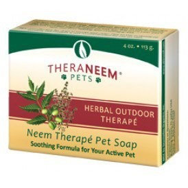 Neem Herbal Outdoor Therapy Pet Cleansing Bar Organix South 4 oz Bar