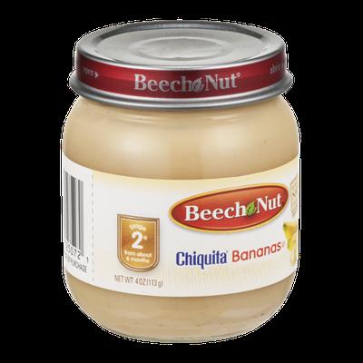 Beech Nut Stage 2 Chiquita Bananas