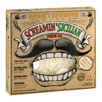 Screamin' Sicilian Pizza Co. Cheese Pizza Bessie's Revenge