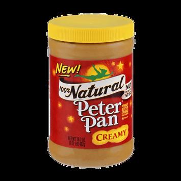 Peter Pan 100% Natural Creamy Peanut Butter