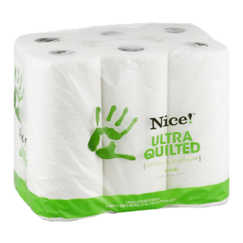 Nice! Paper Towels Ultra Quilted - 6 CT