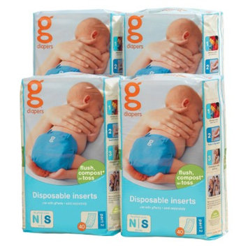 gDiapers Disposable Inserts - Size newborn/small (160 count)