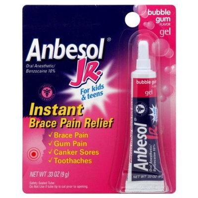 Anbesol Junior Oral Anesthetic Gel-Bubblegum-0.33 oz