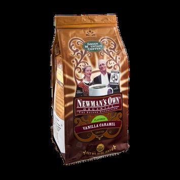 Newman's Own Organics Vanilla Caramel Ground Coffee