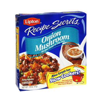 Lipton Recipe Secrets Onion Mushroom Recipe Soup & Dip Mix
