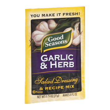 Good Seasons Garlic & Herb Salad Dressing & Recipe Mix