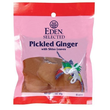 Eden Pickled Ginger, Sliced With Shiso Leaves, 2.2 Pound Package