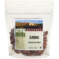 Woodstock Farms Woodstock Whole Roasted & Salted Almonds 8 oz. (Pack of 8) ( Value Bulk Multi-pack)