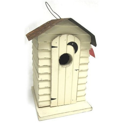 My Amish Goods Outhouse Bird House for Bird, Size: 7 X 7 X 10 , Count: 6