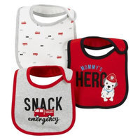 Just One You Made by Carter's Just One YouMade by Carter's Newborn Boys' 3 Pack Fire Truck Bib Set -
