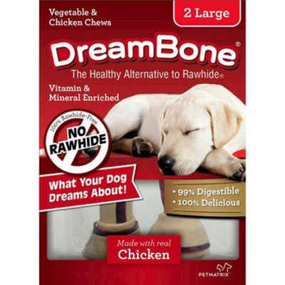 Dreambones DreamBone Vegetable & Chicken Large Dog Chews 2 ct