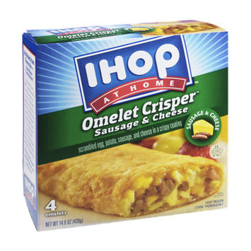 IHOP At Home Sausage & Cheese Omelet Crisper - 4 CT
