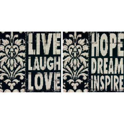Dimensions Acquisition Llc Dimensions Words To Inspire Counted Cross Stitch Kit 14 Count