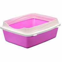 Doskocil Inc Large Litter Pan with Rim