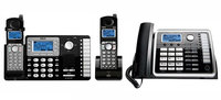 GE/RCA 25212-25055RE1-25260 2-Line DECT 6.0 Corded-Cordless Phone Comb