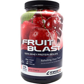 4Ever Fit, Fruit Blast 100% Whey Protein Isolate Wild Cherry 2lb