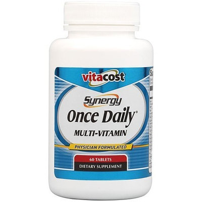 Vitacost Brand Vitacost Synergy Once Daily Multi-Vitamin -- 60 Tablets